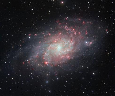 Galaxia M33.
