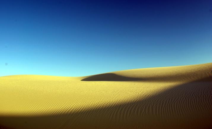 White Sands en Nuevo Mexico, EU.