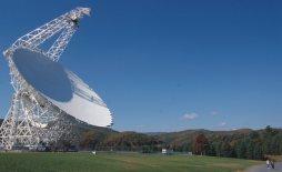 Antena GBT en West Virginia, EU.