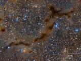 """Esta foto es parte de nuestra galería en """"Barnard 150: filamentos de gas y polvo"""""""