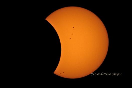 Eclipse Agosto 2017 - Fernando Peña Campos