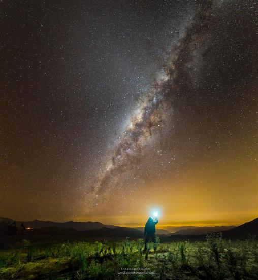 Vía Láctea. Introspección. Guillermo Spiers Madge.