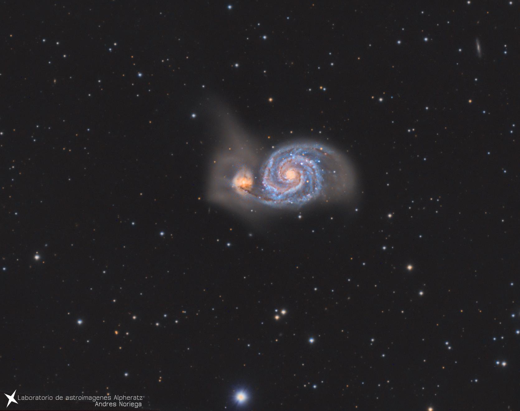 Galaxia del remolino. AndresNoriega.