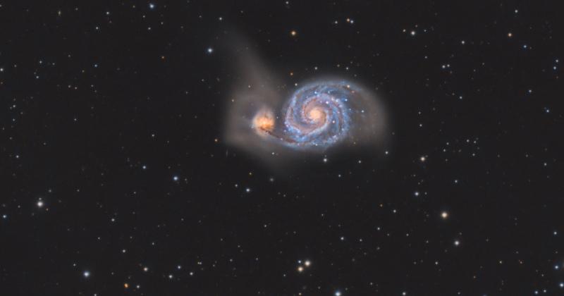 Ver galaxias con un telescopio de aficionado es fácil