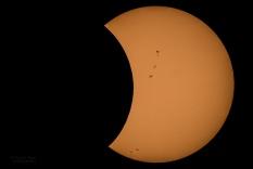 """Esta foto es parte de nuestra galería en """"Eclipse solar desde latinoamérica"""""""