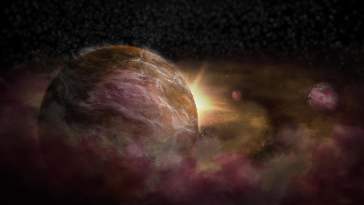 ALMA descubre tres planetas en formación alrededor de estrella recién nacida